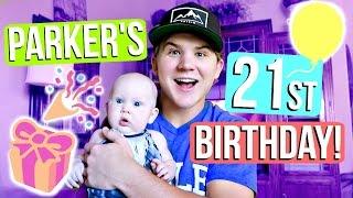 PARKER'S 21ST BIRTHDAY CELEBRATION! by Aspyn + Parker