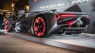 Video 2019 Lamborghini Terzo Millennio - Self-Healing!! MP3, 3GP, MP4, WEBM, AVI, FLV Februari 2018