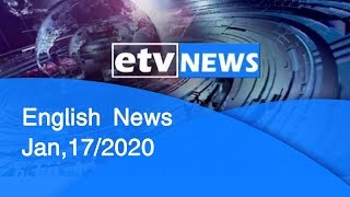 English News Jan,17/2020
