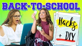 Back To School: Life Hacks + DIY's by Bethany Mota