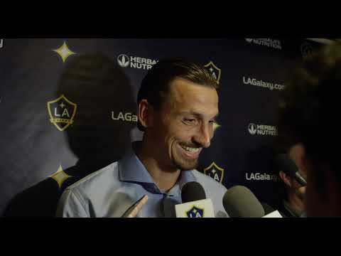 Video: Zlatan Ibrahimovic speaks after LA Galaxy's big win over Seattle Sounders FC