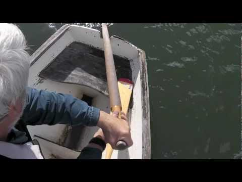 Video: How to scull over the stern