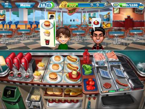 Cooking Fever Level 34.
