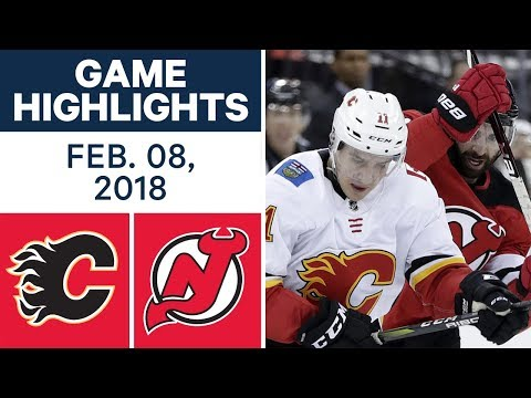 Video: NHL Game Highlights | Flames vs. Devils - Feb. 8, 2018