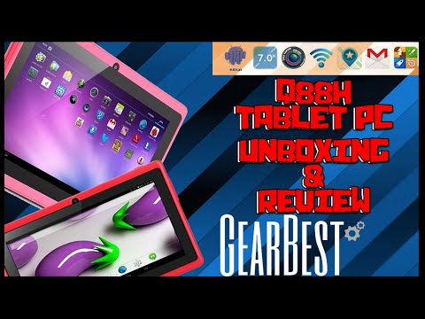 Tablet Pc Q88H//Unboxing y Review Gearbets