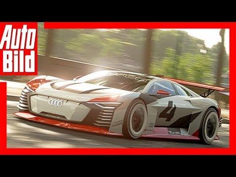 Audi e-tron Vision Gran Turismo (2018) Details / Test / erste Fahrt