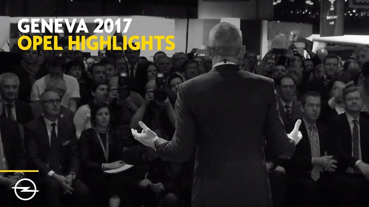 Geneva Motor Show 2017   Opel highlight show-reel   Best of #GIMS2017