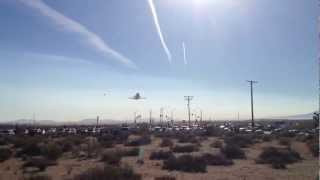 Palmdale (CA) United States  city photos : Space Shuttle Endeavour flyover - Plant 42 Palmdale CA