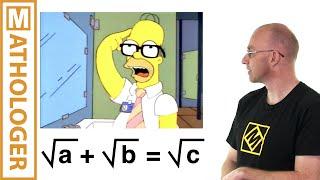 Video Math in the Simpsons: Homer's theorem MP3, 3GP, MP4, WEBM, AVI, FLV Desember 2018