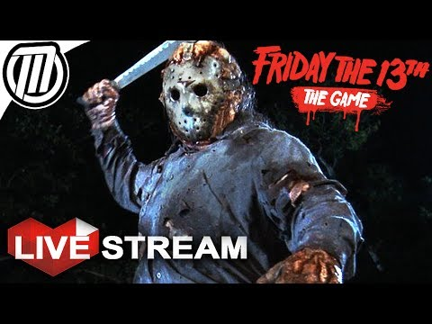 Friday the 13th Game | SURVIVAL SLASHER | Gameplay Live Stream