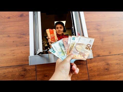 DANDO 300€ DE PROPINA en un MCDONALDS