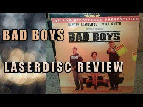 bad boys laserdisc