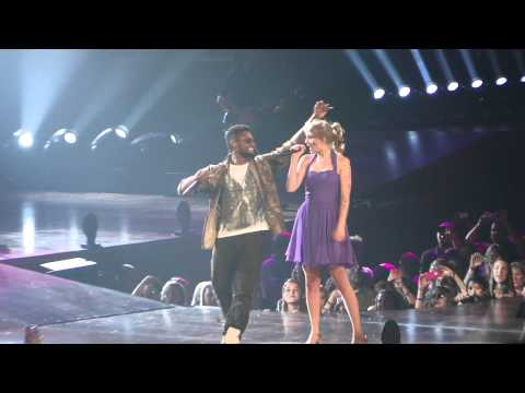 Usher - taylor's surprise guest was usher last night!