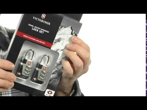Victorinox Travel Accessories 3.0 Travel Sentry™ TSA Approved Lock Set Silver - Robecart.com