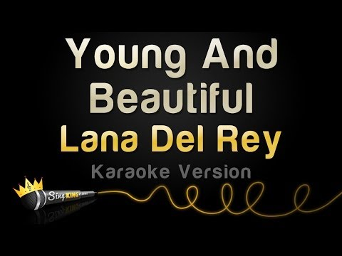 Lana Del Rey - Young And Beautiful (Karaoke Version)