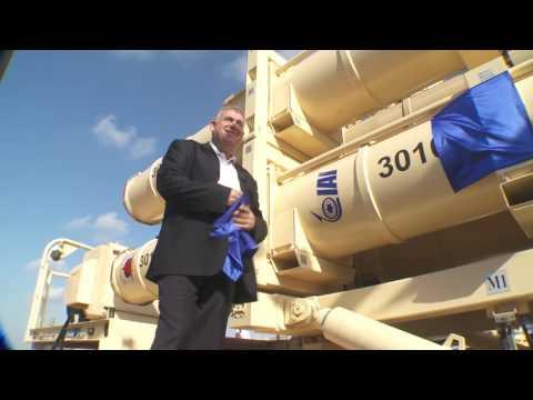 «Star Wars» : Israël dévoile son nouveau missile antibalistique