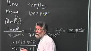 Lecture 28 - Developmental Arithmetic: Math 10