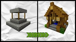 Minecraft: How To Transform A Village | Well Tutorial