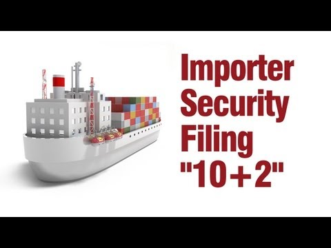 how to file isf for us customs