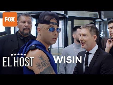 ¡Wisin no quiere cantar en el cabaret! en El Host