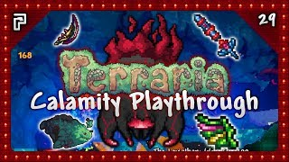 """🌳 Terraria Calamity Mod - Making some EPIC swords, taking on Leviathan and getting a speedy wing upgrade!⭐️ Subscribe For More! - http://www.tinyurl.com/PythonGB⭐️ Python's Patreon Page - https://www.patreon.com/PythonGB⭐️ (AD) Powered by Chillblast! Check out the epic looking Python PC I'm using here - http://tinyurl.com/PythonPC● Follow me on Twitter - http://www.twitter.com/PythonGB● Check out my 2nd channel - http://www.youtube.com/PythonGB2● Follow me on Twitch - http://www.twitch.tv/PythonGB● Check out my website - http://www.pythongb.com/--------------------------------------------------------------------------------★ Terraria Calamity Playthrough Series Playlist (Keep up to date!)http://tinyurl.com/TerrariaCalamity★ More Of My Content● Minecraft Survival Let's Play - http://tinyurl.com/gluv86v● Skyrim Special Edition - http://tinyurl.com/SkyrimSELP● Terraria Ranger Playthrough - http://tinyurl.com/TerrariaRanger● Hermitcraft Season 4 - http://tinyurl.com/HermitcraftS4--------------------------------------------------------------------------------♬ Background Music● INTRO - """"Boss 2""""Above music is by Scott Lloyd Shelley● Vol 1 - https://re-logic.bandcamp.com/album/terraria-soundtrack● Vol 2 - https://re-logic.bandcamp.com/album/terraria-soundtrack-volume-2● Vol 3 - https://re-logic.bandcamp.com/album/terraria-soundtrack-volume-3-2"""