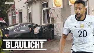Der 14-jährige Stiefbruder von Karim Bellarabi crasht in Hauswand.BILD jetzt abonnieren: http://on.bild.de/bild_abo