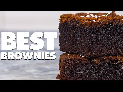 The Best Brownies You'll Ever Eat (Best Homemade Brownies Recipe)
