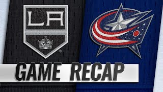 Panarin nets two as Blue Jackets take down Kings, 4-1 by NHL
