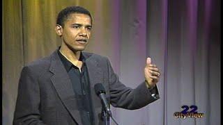 Video From the Vault • Barack Obama • SEP 1995 MP3, 3GP, MP4, WEBM, AVI, FLV Oktober 2017