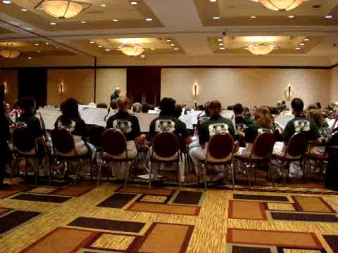 carlheanerd - PA All-State Lions Band performing God of Our Fathers. July 2009.