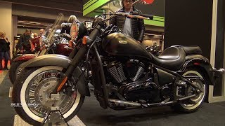 2. 2018 Kawasaki Vulcan 900 Classic - Walkaround - 2018 Montreal Motorcycle Show
