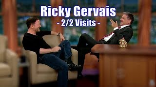 """Video Ricky Gervais - """"This Might Be The Best Chat show Ever!"""" - 2/2 Visits In Chron. Order [720p] MP3, 3GP, MP4, WEBM, AVI, FLV April 2018"""