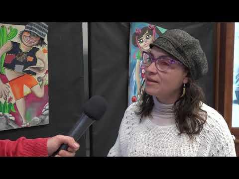 """Carola Martin: muestra """"Pilucho del Mundo"""" en el Hall de la Legislatura"""