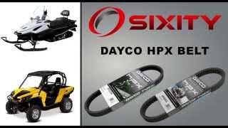 9. Dayco HPX Drive Belts @ Sixity.com