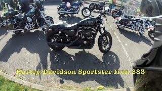 9. Test Riding the Harley Davidson Sportster Iron 883 XL883N