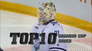 2017 Gagarin Cup Top 10 Saves