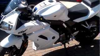 7. My new 2012 Suzuki SV650s