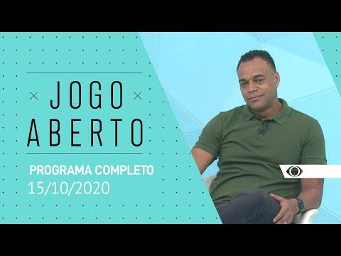 [AO VIVO] JOGO ABERTO - 15/10/2020