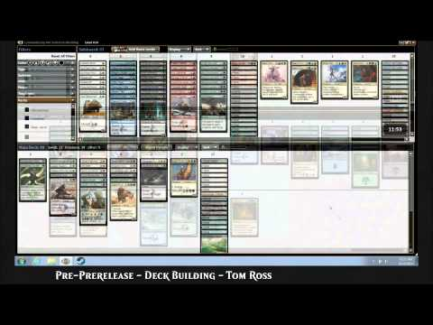 Cup - Watch the eight members of the 2014 Magic Online Community Cup build their Khans of Tarkir Prerelease decks! More coverage: http://magic.wizards.com/en/events/coverage/occ14.