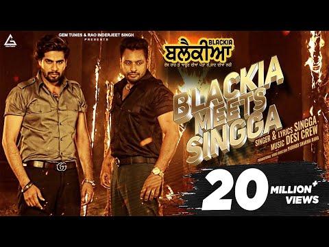 SINGGA (Official Video) BLACKIA MEETS SINGGA | Dev Kharoud | Desi Crew | New Punjabi Song 2020