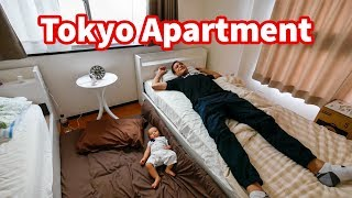 Video Living in Japan - TOKYO APARTMENT TOUR in Shinjuku | Where To Stay in Tokyo $60 Per Night! MP3, 3GP, MP4, WEBM, AVI, FLV Agustus 2019