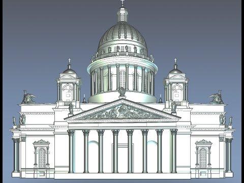 Александрийская колонна и Исакиевский собор, технологии строительства колон