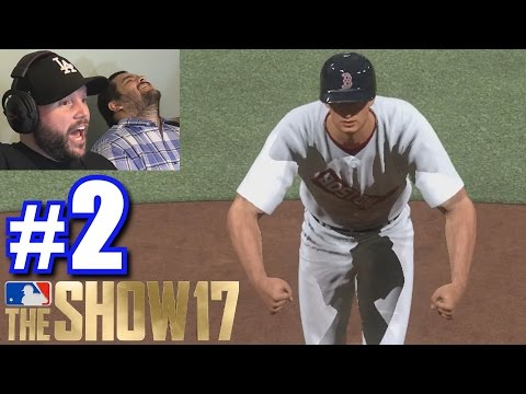 BEAST MODE TED WILLIAMS! | MLB The Show 17 | Retro Mode #2 (видео)