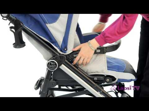 Прогулочная коляска Peg Perego Pliko Switch Easy Drive (Пег Перего Свитч Изи Драйв)