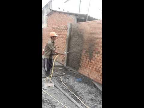 Máy phun vữa tô tường , Máy tô tường JRD-40 , Máy phun vữa    0908540039