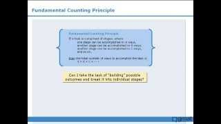 1. GMAT Prep - GMAT Math Lesson - Counting - The Fundamental Counting Principle