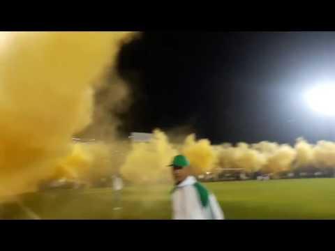 Salida + himno, B/manga vs tolima semifinal ida, FORTALEZA LEOPARDA SUR 2016 - Fortaleza Leoparda Sur - Atlético Bucaramanga
