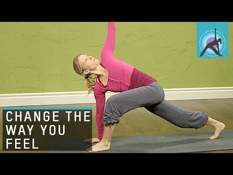 4 Yoga Poses to Change the way you Feel