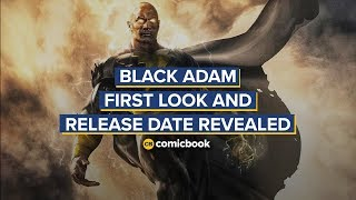 BREAKING: Black Adam First Look and Release Date Revealed by Comicbook.com