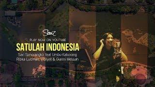 SARI SIMORANGKIR - SATULAH INDONESIA (OFFICIAL LYRICS VIDEO)
